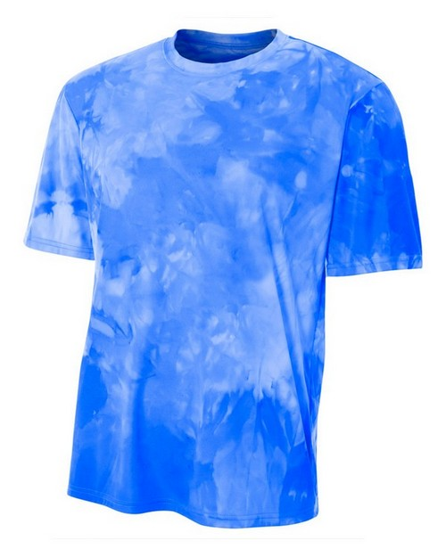 A4 N3295 Mens Cloud Dye T-Shirt