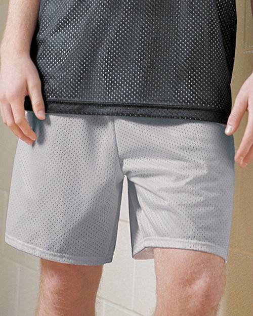 A4 N5293 Adult 7 Inseam Lined Tricot Mesh Shorts