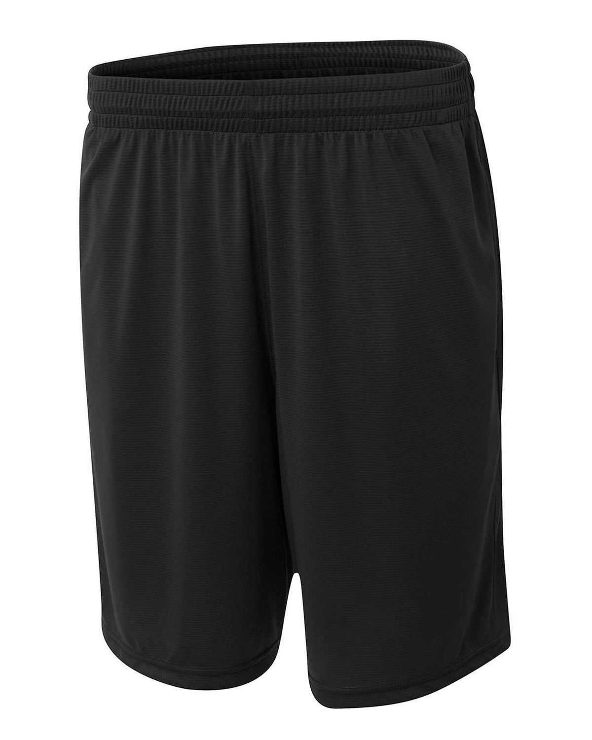 A4 N5370 Mens Player 10 inch Pocketed Polyester Short