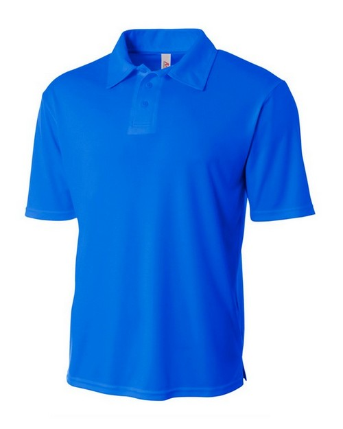 A4 NB3261 Youth Circular-Knit Performance Polo Shirt