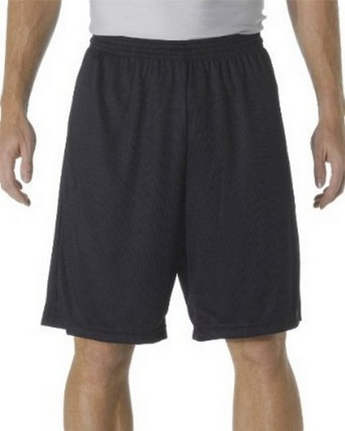 A4 NB5281 Youth Cooling Performance Power Mesh Practice Shorts