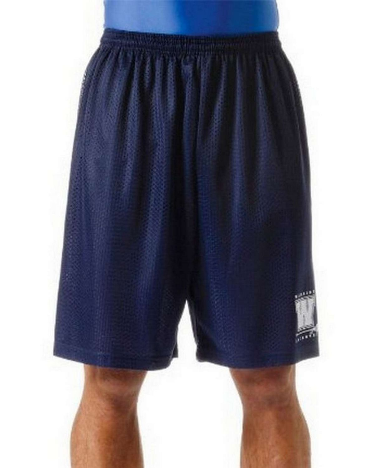 A4 NM5019 Adult Utility 9 Mesh Shorts
