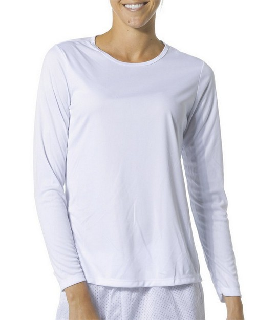 A4 NW3002 Ladies Long Sleeve Cooling Performance Crew Shirt