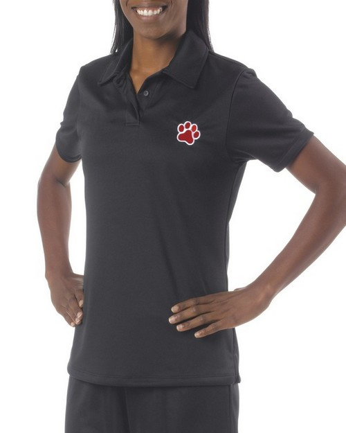 A4 NW3261 Ladies Solid Interlock Polo