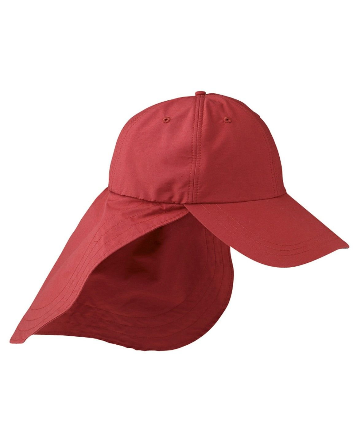 Adams EOM101 6-Panel UV Low-Profile Cap with Elongated Bill & Neck Cape