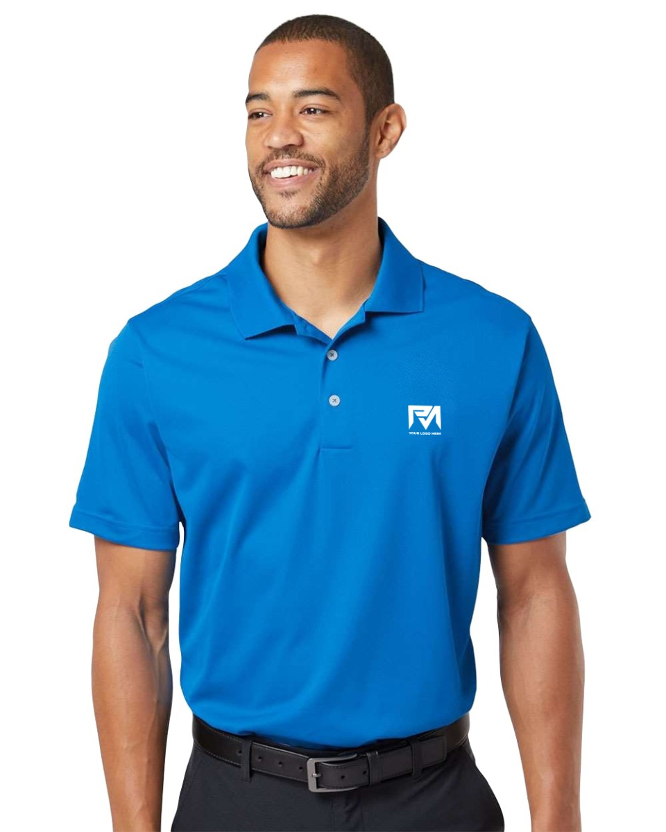 Adidas Golf A130 Mens Climalite Basic Short-Sleeve Polo
