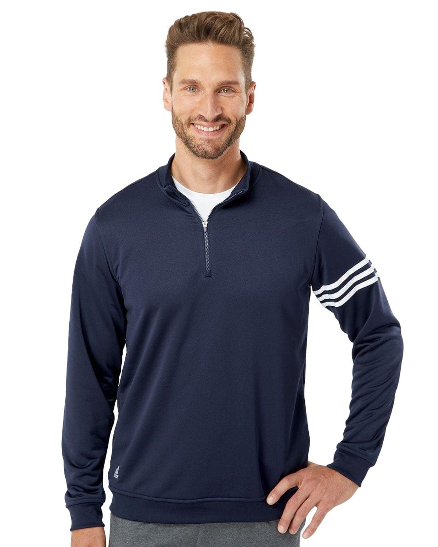 Adidas Golf A190 Mens climalite 3-Stripes Pullover
