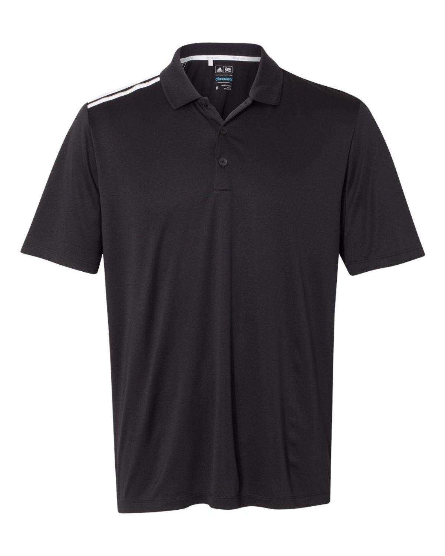 Adidas Golf A233 Mens 3-Stripes Shoulder Polo