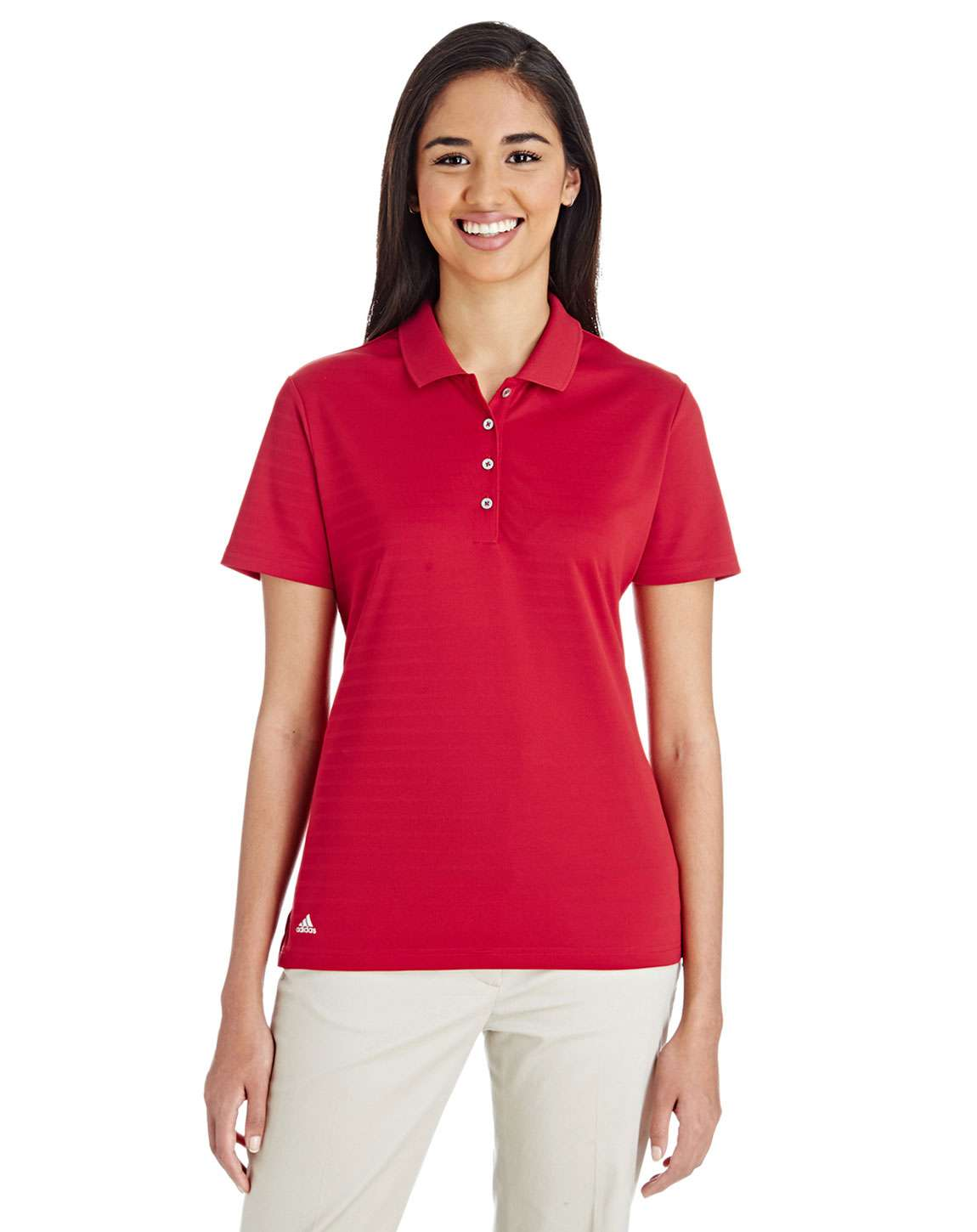 Adidas Golf A262 Ladies Micro Stripe Polo