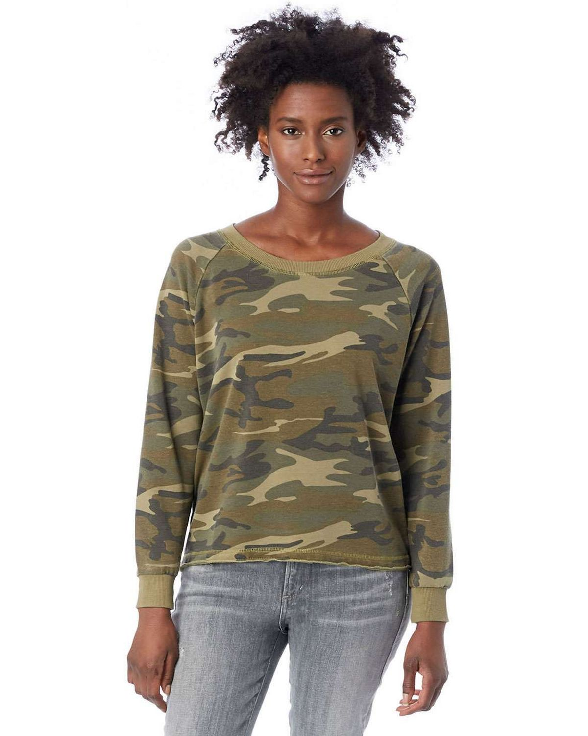 Alternative 8626F Ladies Lazy Day Pullover