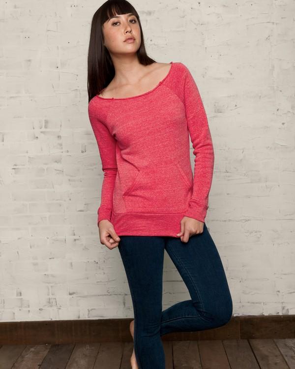 Alternative AA9582 Ladies Eco Fleece Maniac Pullover Sweatshirt