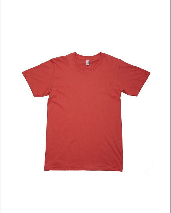 American Apparel 2001OR Drop Ship Mens Short Sleeve Organic Cotton Tee