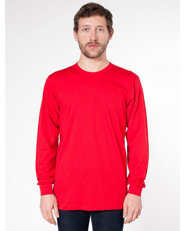 American Apparel 2007 Unisex Fine Jersey Long-Sleeve T-Shirt