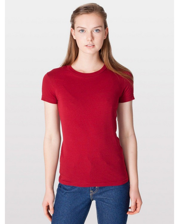 American Apparel 2102 Ladies Fine Jersey Short-Sleeve T-Shirt