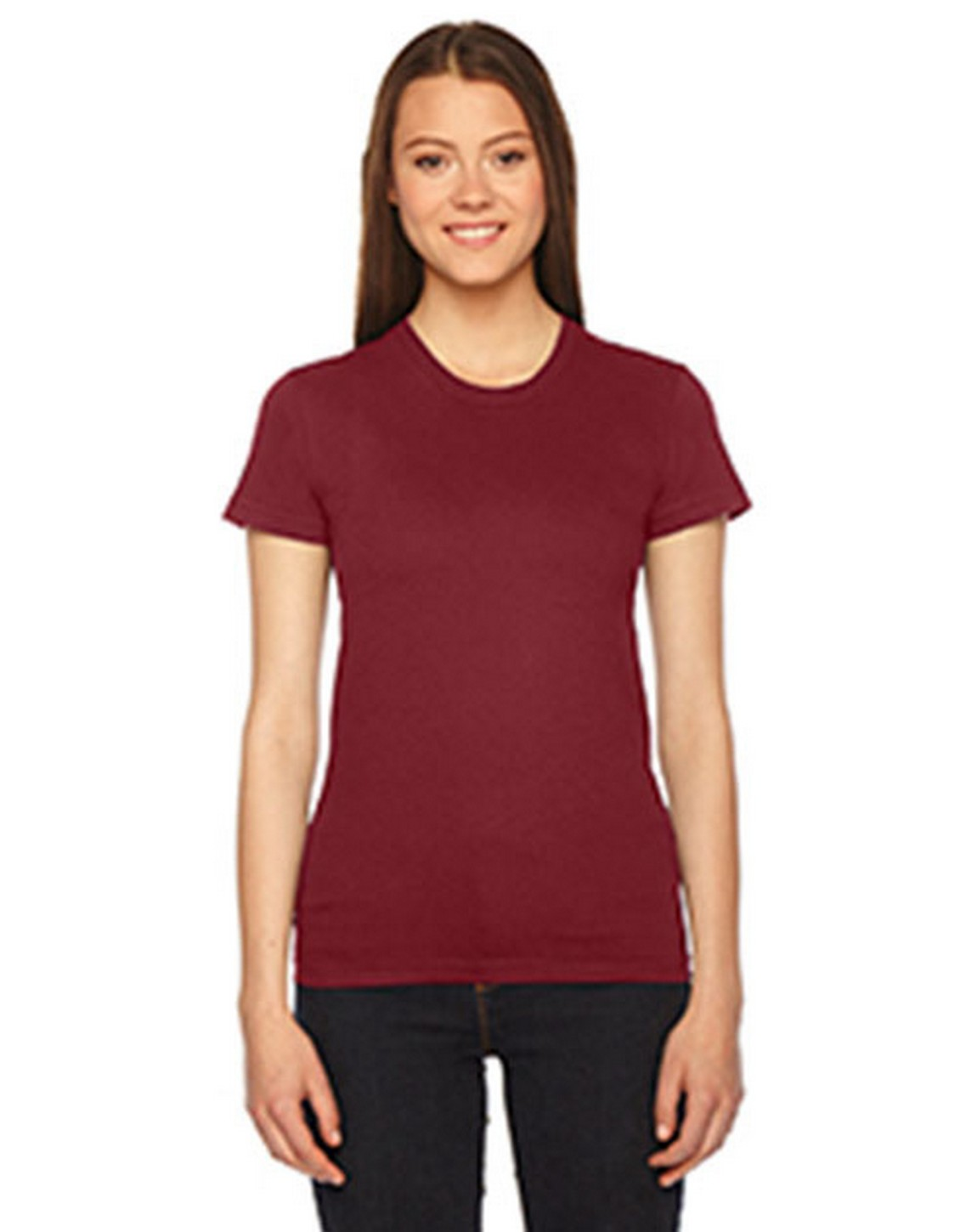 American Apparel 2102W Ladies Fine Jersey Short-Sleeve T-Shirt