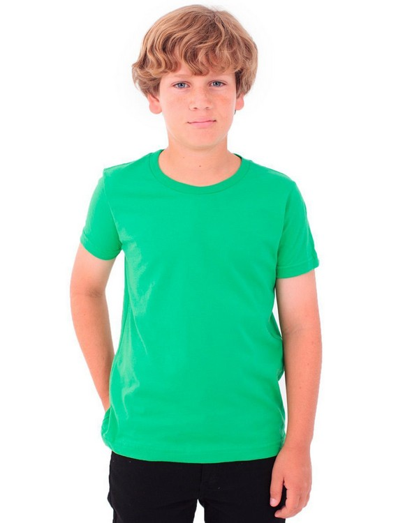 American Apparel 2201 Youth Fine Jersey Short-Sleeve T-Shirt