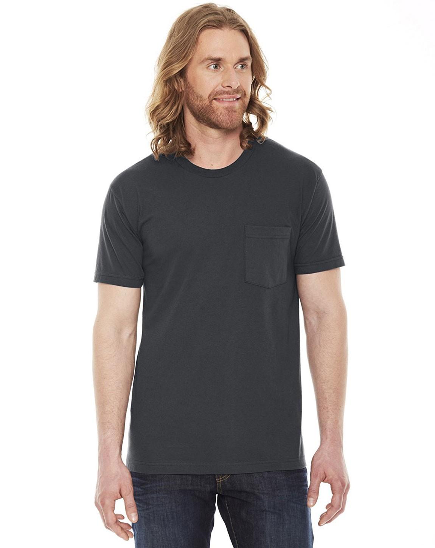 American Apparel 2406W Unisex Fine Jersey Pocket T-Shirt