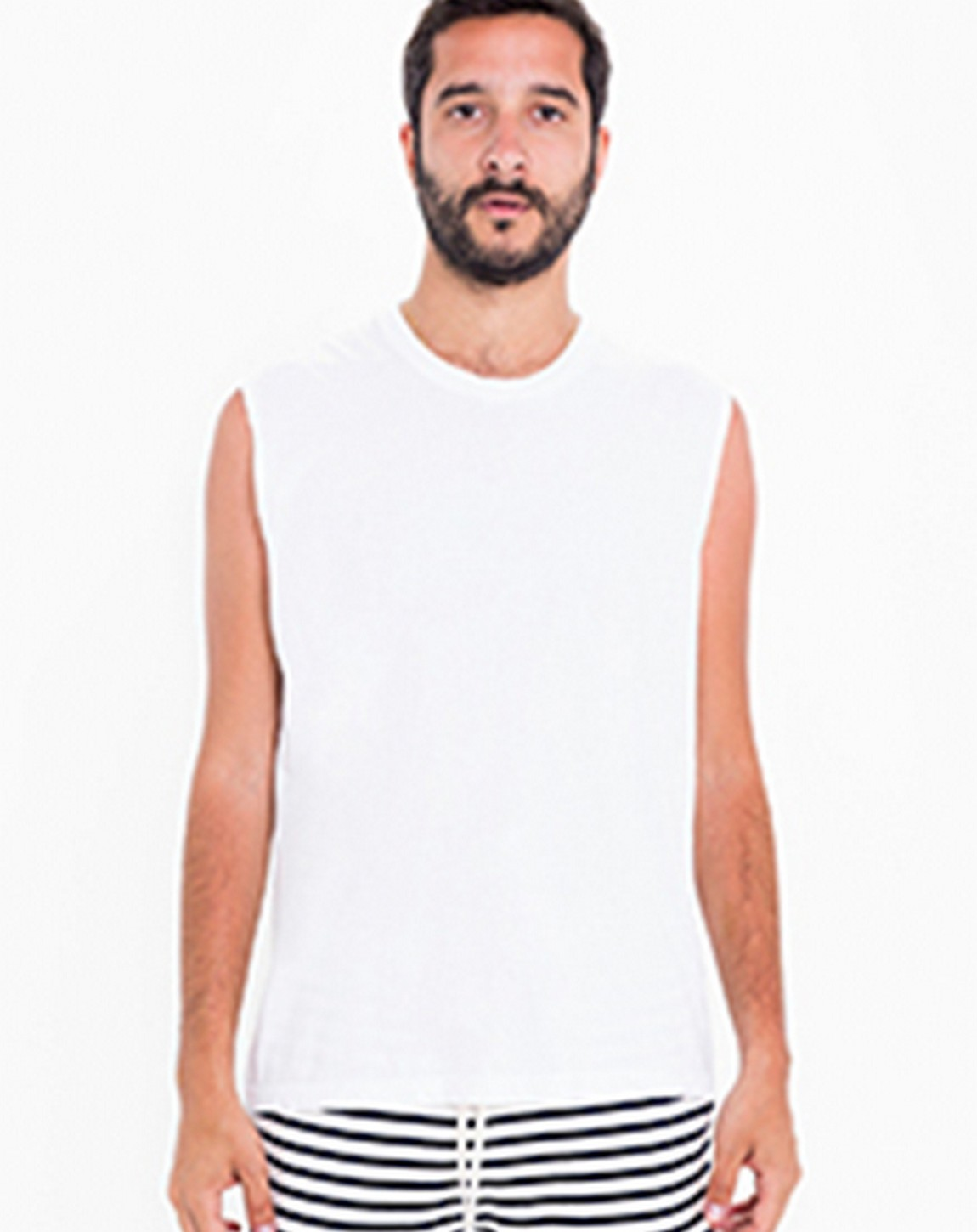 American Apparel 2465 Unisex Power Washed Muscle Tank