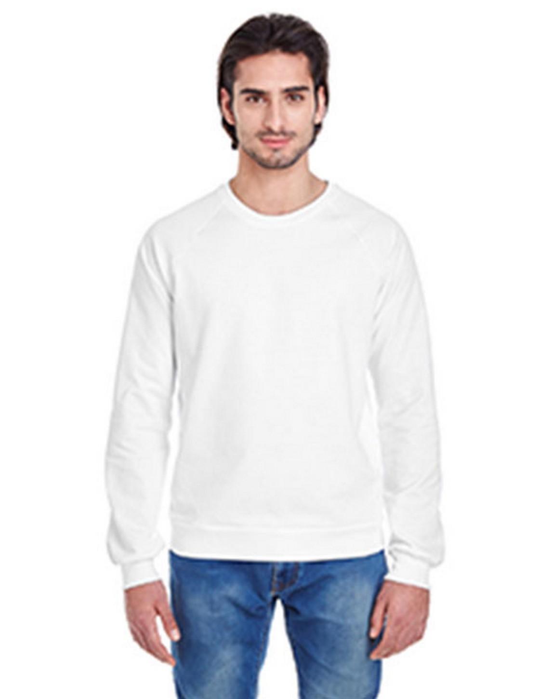 American Apparel 5454W Unisex California Fleece Raglan T-Shirt