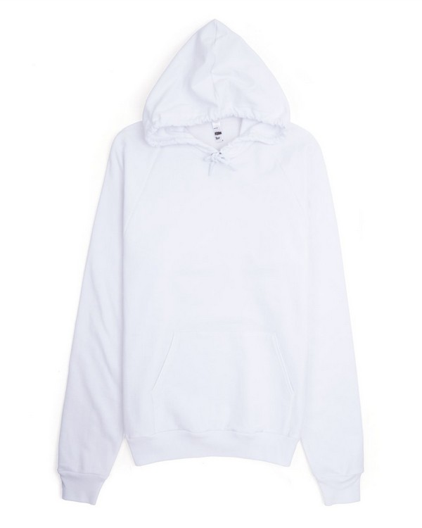 American Apparel 5495 California Fleece Pullover Hoodie