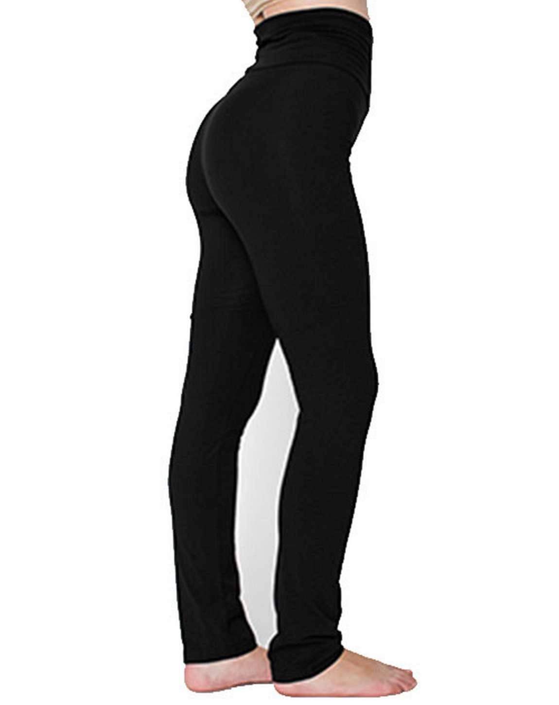 American Apparel 8375W Ladies Cotton Spandex Yoga Pant
