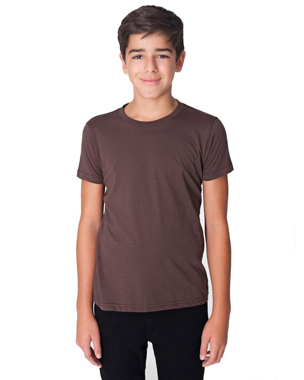 American Apparel BB201 Youth 50-50 Poly-Cotton Short Sleeve Tee