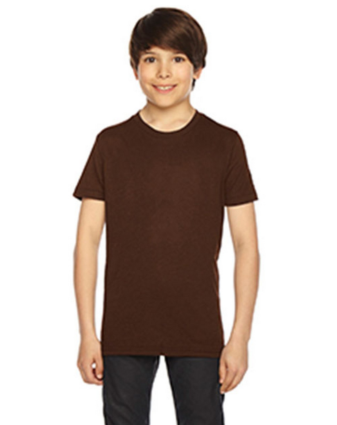 American Apparel BB201W Youth Poly-Cotton Short-Sleeve Crewneck T-Shirt