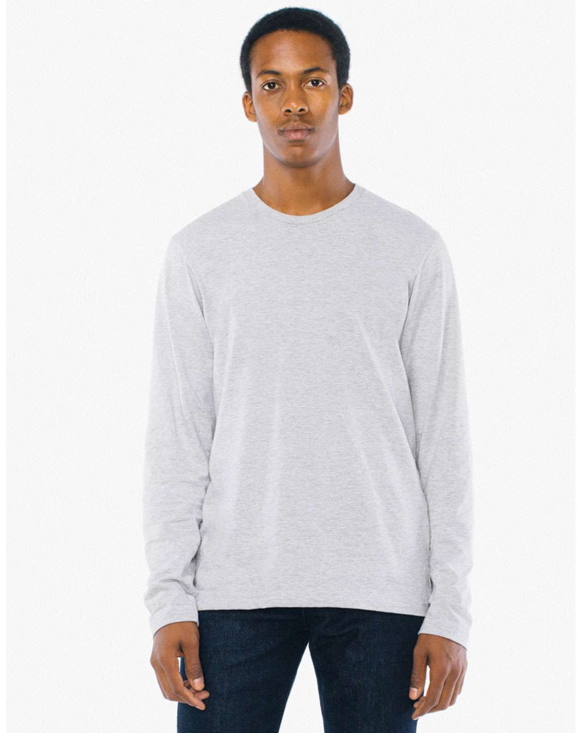 American Apparel SA2426W Unisex Power Washed Long-Sleeve T-Shirt