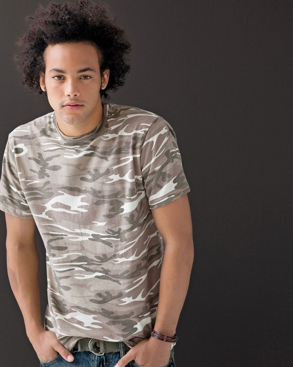 Anvil 939 Midweight Camouflage T-Shirt