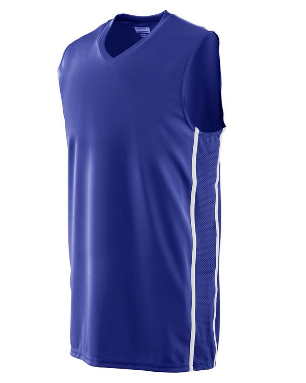 Augusta Sportswear 1180 Adult Wicking Polyester Sleeveless Jersey with Mesh Inserts