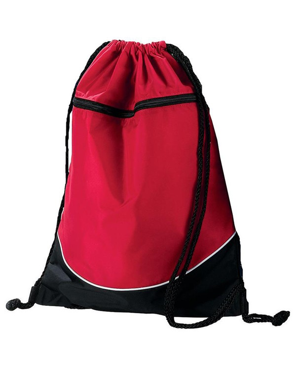 Augusta Sportswear 1920 Tri-Color Drawstring Backpack