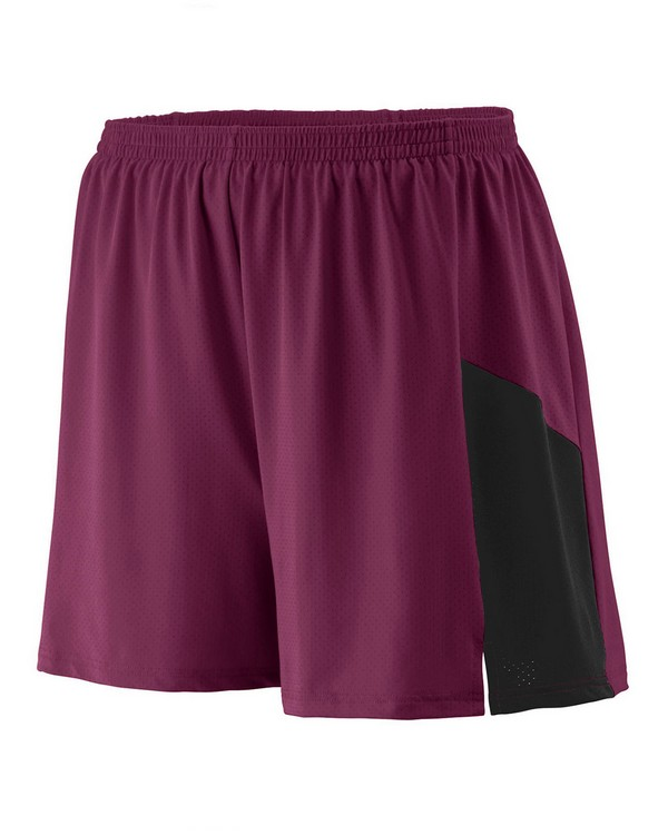 Augusta Sportswear 335 Adult Wicking Poly/Span Short with Inserts
