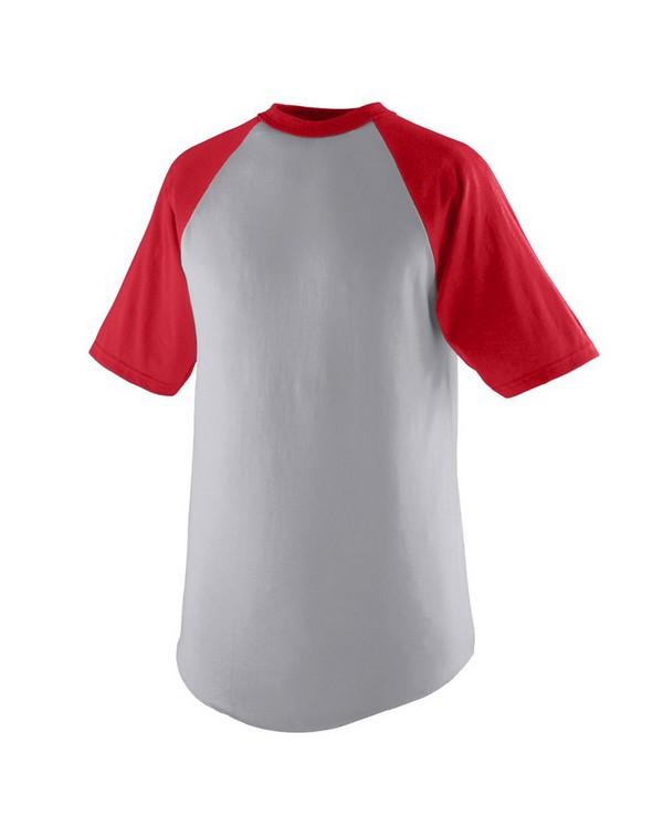 Augusta Sportswear 424 Youth Short-Sleeve Baseball Jersey