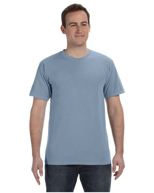 Authentic Pigment 1969 Pigment-Dyed Direct-Dyed Ringspun T-Shirt
