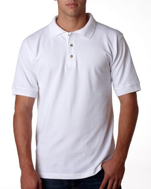 Bayside 1000 Adult Cotton Pique Polo