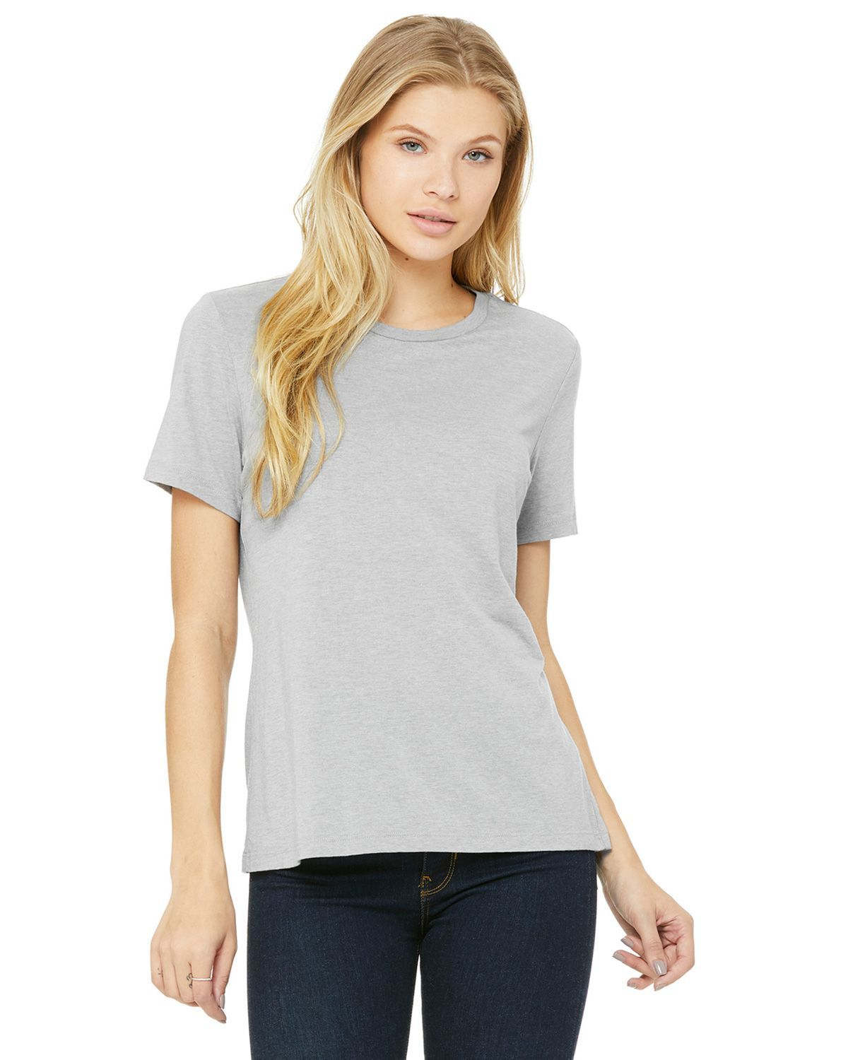 Bella + Canvas B6400 Ladies Relaxed Jersey Short-Sleeve T-Shirt