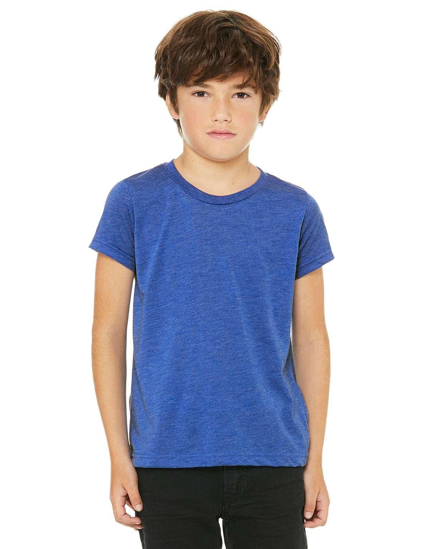 Bella + Canvas 3413Y Youth Triblend Short-Sleeve T-Shirt