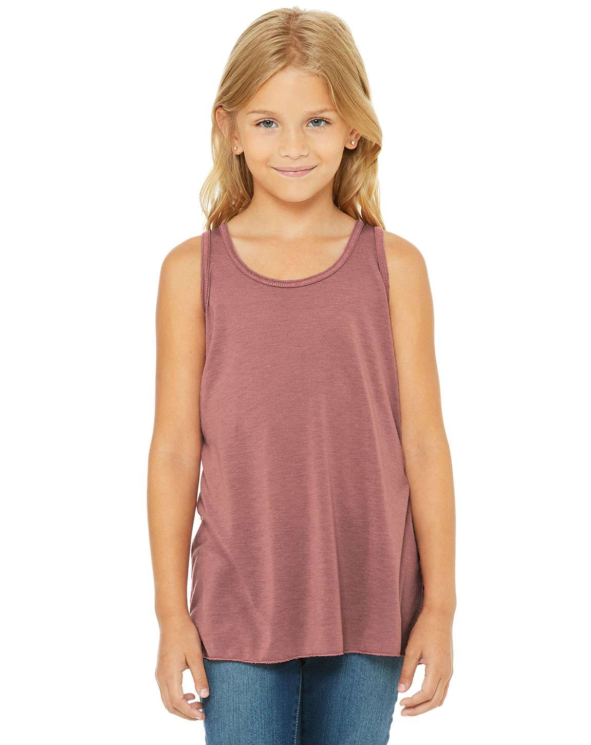 Bella + Canvas B8800Y Youth Flowy Racerback Tank