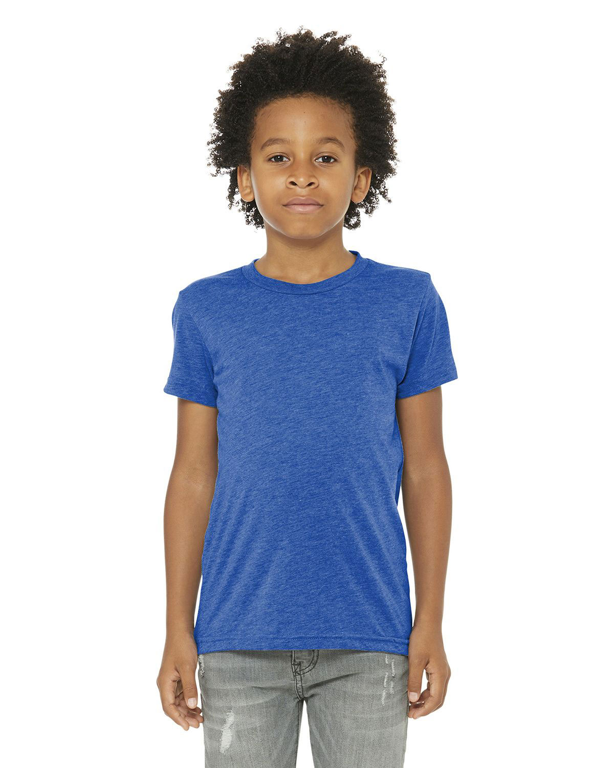 Bella  Canvas BC3413Y Youth Triblend Short Sleeve Tee