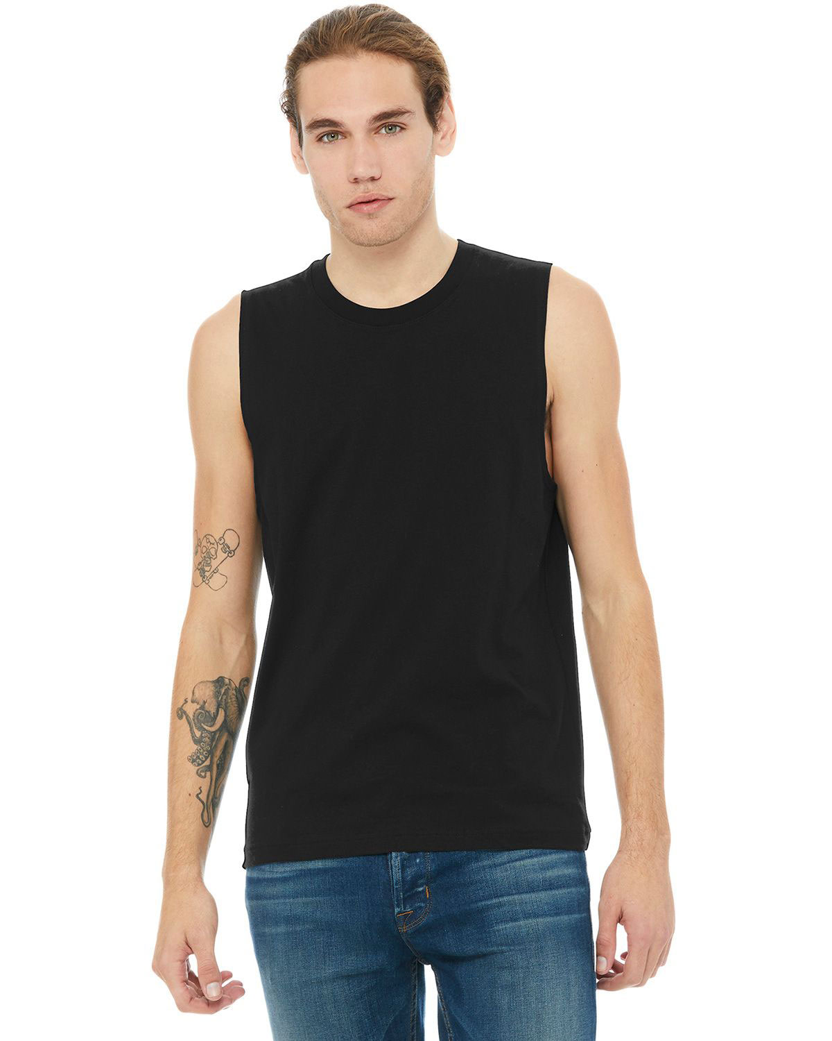 Bella  Canvas BC3483 Unisex Jersey Muscle Tank