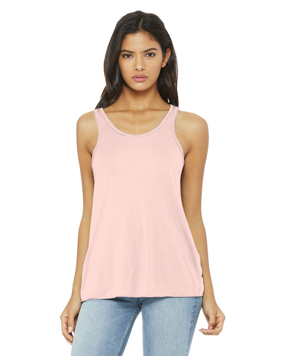 Bella  Canvas BC8800 Womens Flowy Racerback Tank