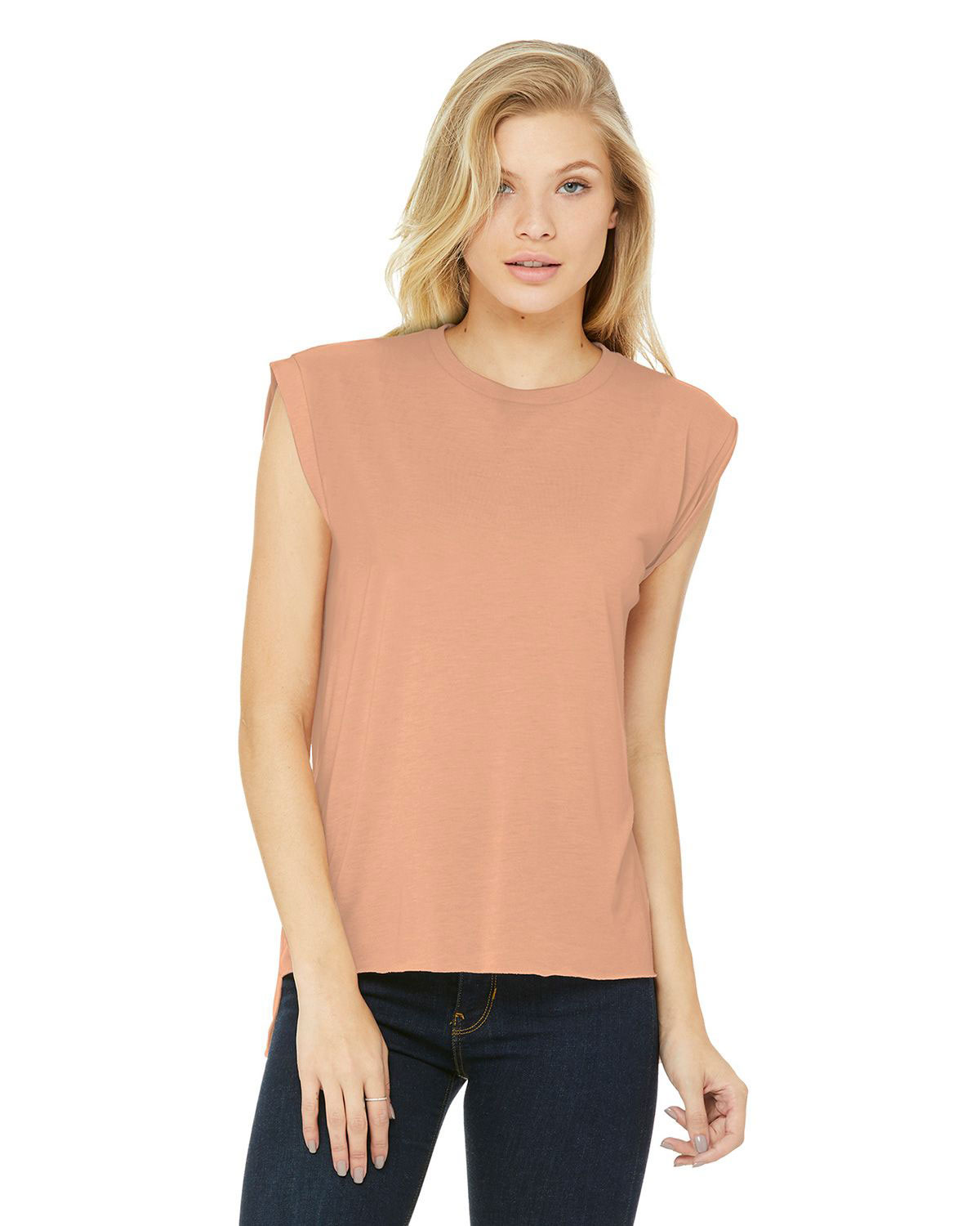 Bella  Canvas BC8804 Womens Flowy Muscle Tee