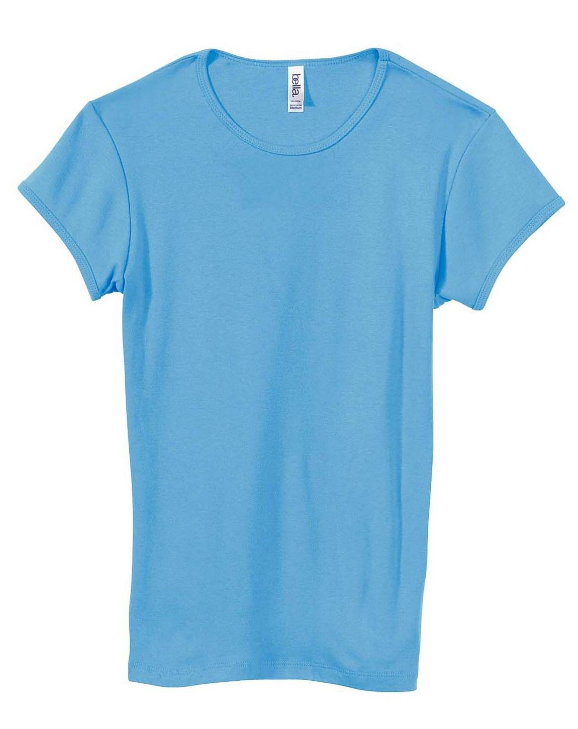 Bella + Canvas 1001 Ladies Stretch Rib Short-Sleeve T-Shirt