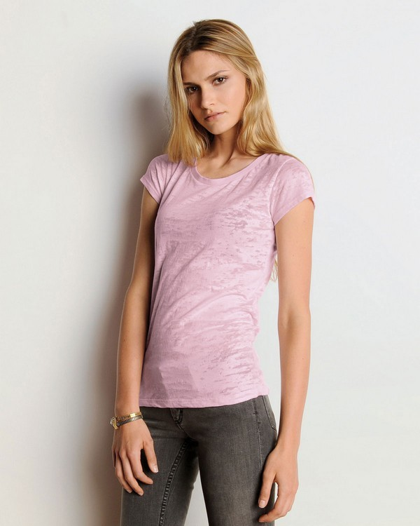 Bella + Canvas 8601 Ladies Burnout Short-Sleeve T-Shirt