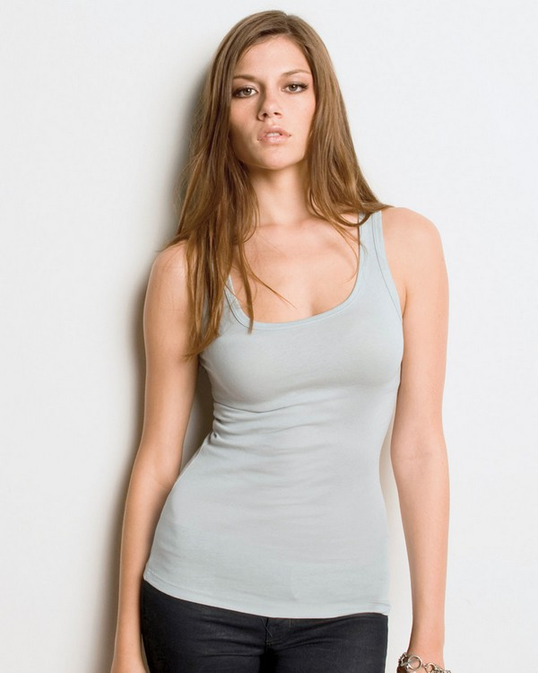 Bella + Canvas B8780 Ladies Sheer Mini Rib Tank