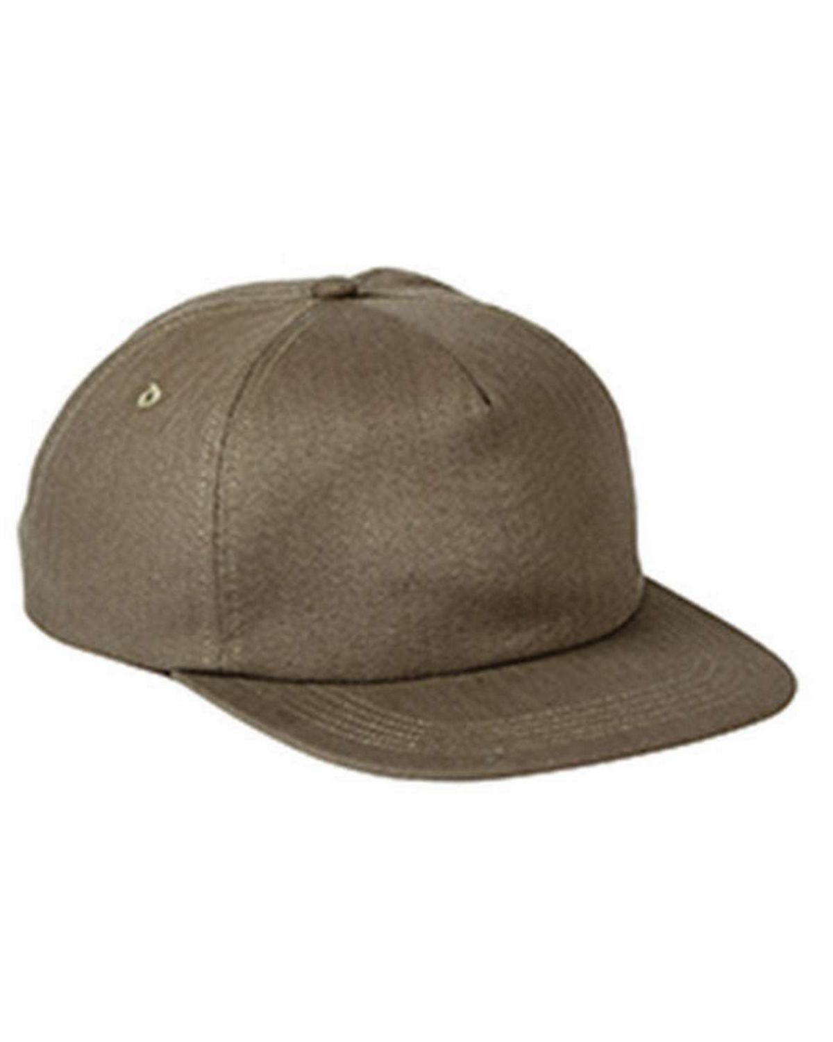 Big Accessories BA615 Squatty Herringbone Cap
