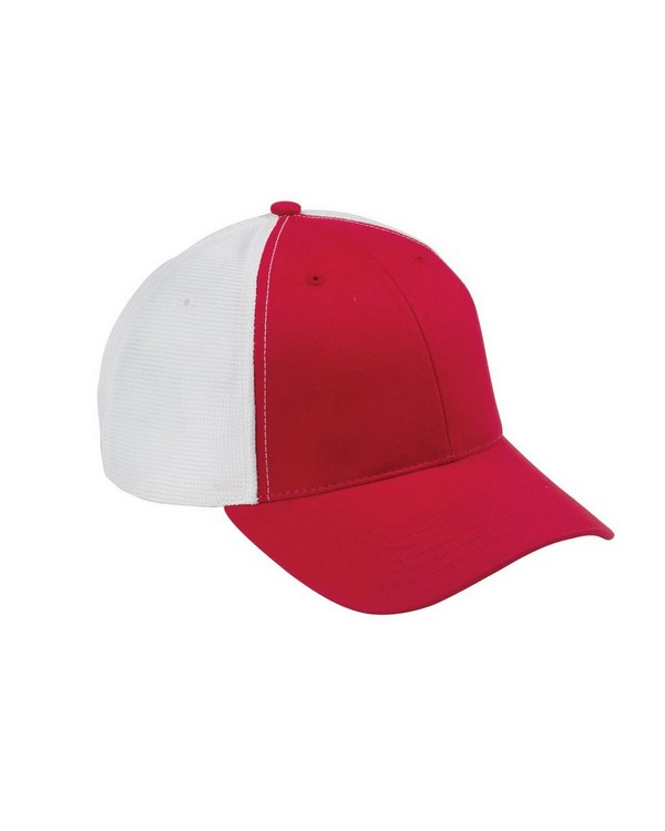 Big Accessories OSTM Old School Baseball Cap with Technical Mesh