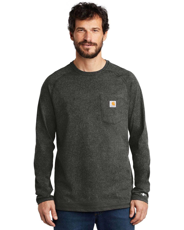 Carhartt CT100393 Force Cotton Delmont Long Sleeve T-Shirt