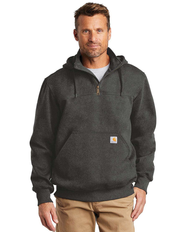 Carhartt CT100617 Rain Defender Paxton Heavyweight Hooded Zip Mock Sweatshirt