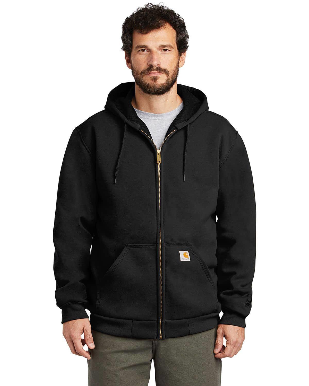 Carhartt CT100632 Rain Defender Thermal-Lined Hooded Zip-Front Sweatshirt